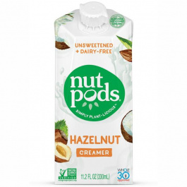 Nutpods Hazelnut Unsweetened Dairy-Free Creamer, 330ml