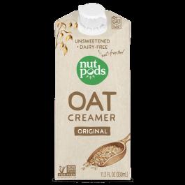 Nutpods Oat Creamer Original Unsweetened, 330mL