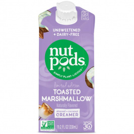 Nutpods Toasted Marshmallow Unsweetened Dairy-Free Creamer, 330mL