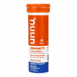 Nuun Immunity Electrolyte Supplement Blueberry Tangerine, 10 Tablets