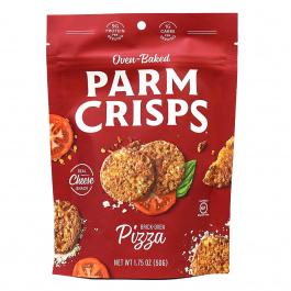 ParmCrisps Brick-Oven Pizza Cheese Crisps, 50g pouch