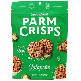 ParmCrisps Jalapeno Cheese Crisps, 50g pouch