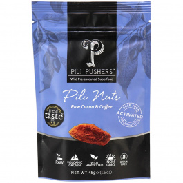 Pili Pushers Raw Cacao & Coffee Pili Nuts, 45g