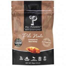 Pili Pushers Cinnamon & Raw Honey Pili Nuts, 45g