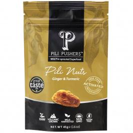 Pili Pushers Ginger & Turmeric Pili Nuts, 45g