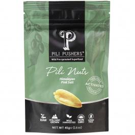 Pili Pushers Himalayan Pink Salt Pili Nuts, 45g