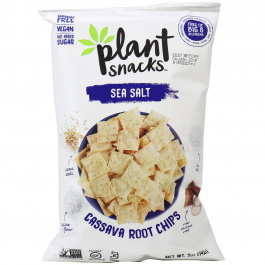 Plant Snacks Sea Salt Cassava Root Chips, 142g
