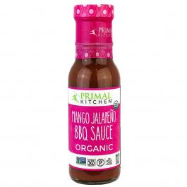 Primal Kitchen Organic Mango Jalapeño BBQ Sauce, 256g