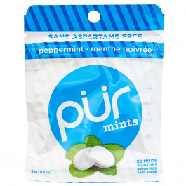 Pur Sugar-Free Mints Peppermint, 32g