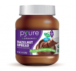 Pyure Organic Hazelnut Spread with Cocoa, 369g