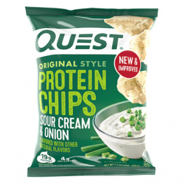 Quest Protein Tortilla Chips Sour Cream & Onion, 32g