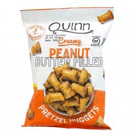 Quinn Peanut Butter Filled Gluten Free Pretzel Nuggets, 198g