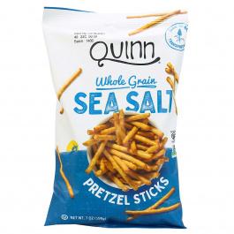 Quinn Gluten-Free Whole Grain Pretzel Sticks Sea Salt, 198g