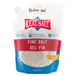 Redmond RealSalt Nature's First Sea Salt Fine Salt, 737g
