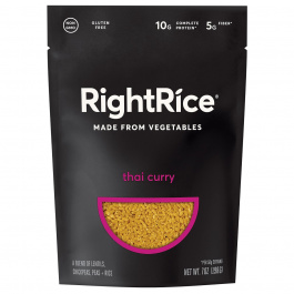 RightRice Thai Curry Rice Made from Vegetables, 198g