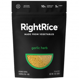 RightRice Garlic Herb Rice Made from Vegetables, 198g