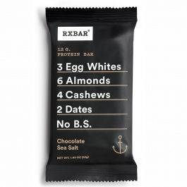 RX Bar Chocolate Sea Salt, 52g