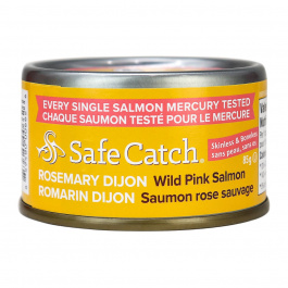 Safe Catch Wild Alaska Pink Salmon - Rosemary Dijon, 85g
