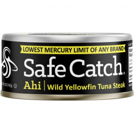 Safe Catch Ahi Wild Yellowfin Tuna Steak, 142g