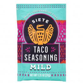 Siete Taco Seasoning Mild, 37g