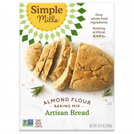 Simple Mills Grain-Free Almond Flour Baking Mix Artisan Bread, 294g