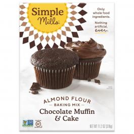 Simple Mills Grain-Free Almond Flour Baking Mix Chocolate Cake, 318g