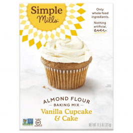 Simple Mills Grain-Free Almond Flour Baking Mix Vanilla Cake, 327g