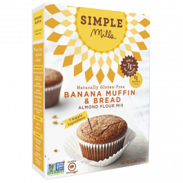 Simple Mills Banana Muffin & Bread Mix, 255g