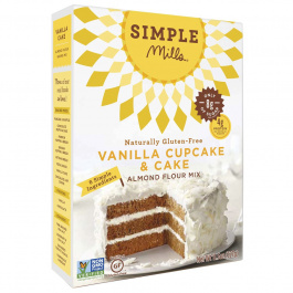 Simple Mills Vanilla Cake Almond Flour Mix, 327g
