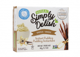 Simply Delish Sugar Free Vanilla Pudding, 48g
