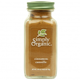 Simply Organic Cinnamon Ground, 69g
