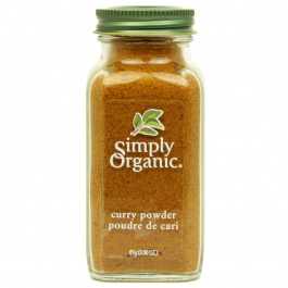Simply Organic Curry Powder Organic, 85g