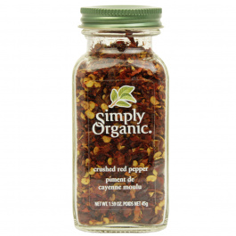 Simply Organic Red Pepper Crushed, 45g