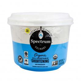 Spectrum Naturals Organic Vegetable Shortening, 680g