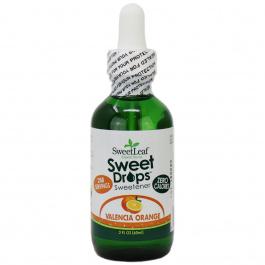 Sweetleaf Sweet Drops Liquid Stevia Valencia Orange, 60ml