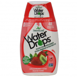 Sweetleaf Strawberry Kiwi Water Drops, 48ml