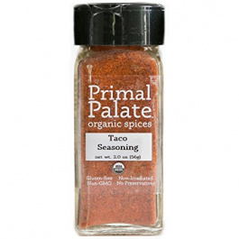 Primal Palate Organic Taco Seasoning, 56g
