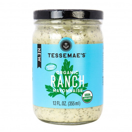 Tessemae's Organic Ranch Mayonnaise, 355mL