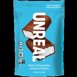 Unreal Dark Chocolate Coconut Bars, 120g