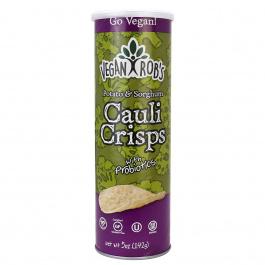 Vegan Rob's Potato & Sorghum Cauli Crisps with Probiotics, 142g