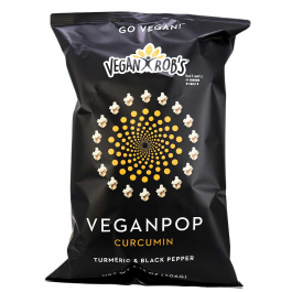 Vegan Rob's Veganpop Curcumin Turmeric & Black Pepper, 106g