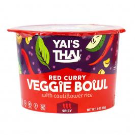 Yai's Thai Veggie Bowl Red Curry, 85g