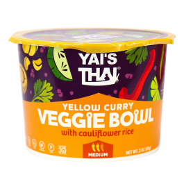 Yai's Thai Veggie Bowl Yellow Curry, 85g