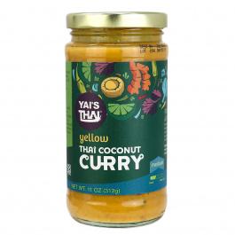 Yai's Thai Coconut Curry Yellow Medium, 454g