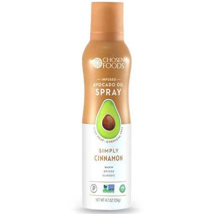 Chosen Foods Simply Cinnamon Avocado Oil Spray, 134g