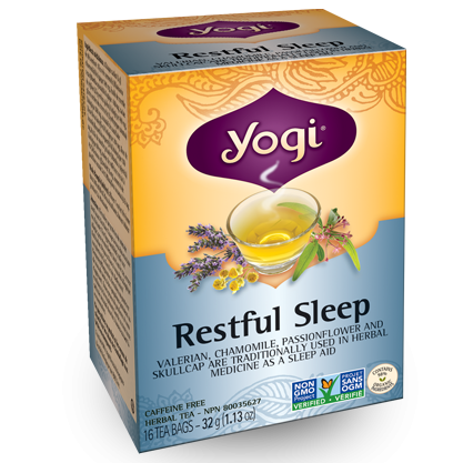 Yogi Tea Restful Sleep Caffeine Free, 16 Bags
