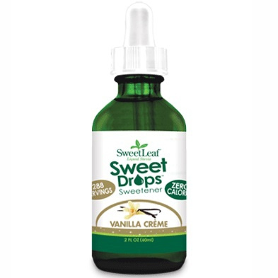 Sweetleaf Sweet Drops Liquid Stevia Vanilla Crème, 60ml