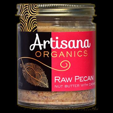 Artisana Organic Raw Pecan Butter With Cashews, 227g