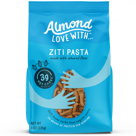 Almond Love With Low-Carb Ziti Pasta, 226g