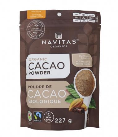Navitas Naturals Organic Cacao Powder, 227g